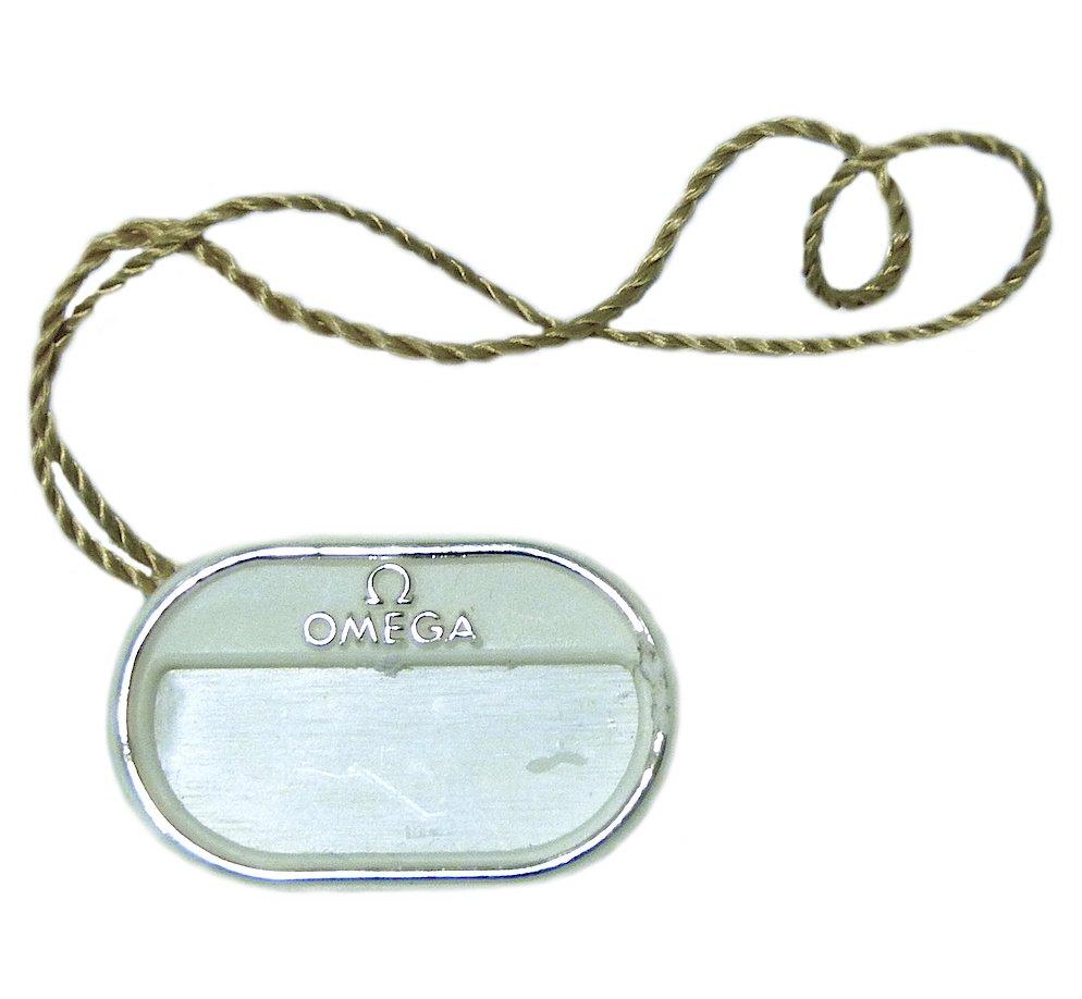 Omega De Ville Prestige Watch Plastic Hang Tag 424.13.40.20.01.001 Authentic