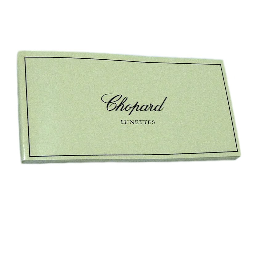 CHOPARD LUNETTES SUNGLASSES BOOKLET MULTI LANGUAGE AUTHENTIC