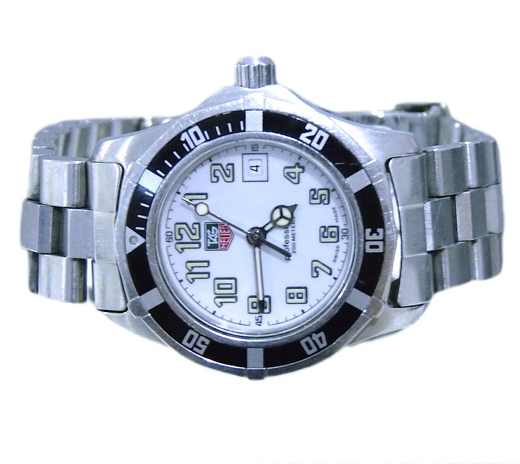 TAG HEUER PROFESSIONAL 200M WM1311 STAINLESS STEEL LADIES WATCH PRE-OWNED SWISS
