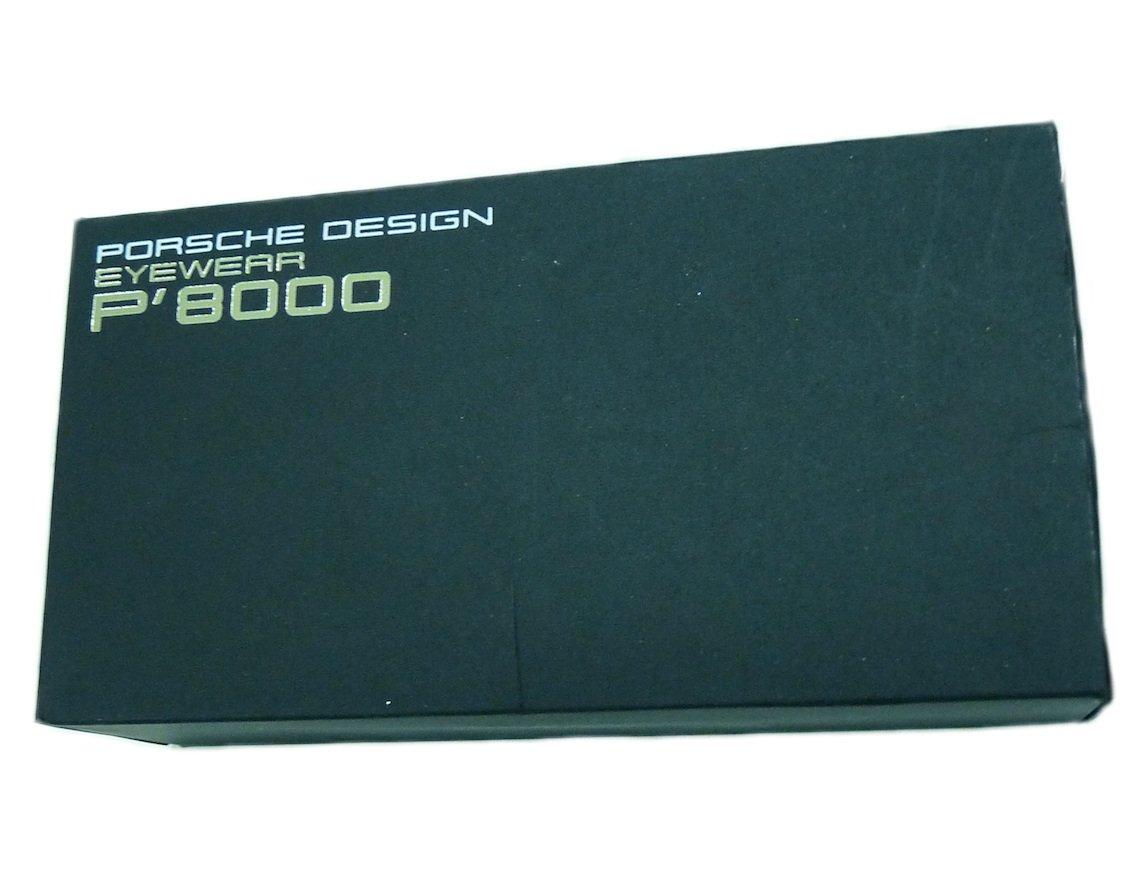 porsche design glasses p 8000 outer box authentic