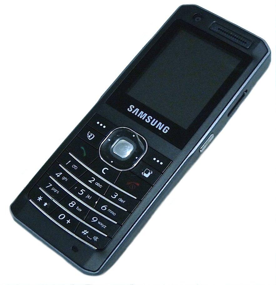 SAMSUNG SGH-Z150 ULTRA SLIM BLACK MOBILE PHONE