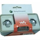 SONY ERICSSON WALKMAN MPS-60 MULTIMEDIA PORTABLE SPEAKERS UNUSED