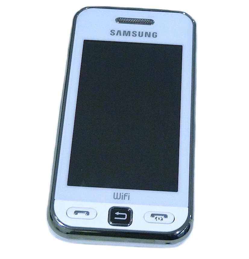 SAMSUNG TOUCH GT-S5230W SNOW WHITE MOBILE PHONE UNLOCKED WI FI CAMERA UNUSED