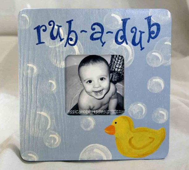 """rub-a-dub"" frame"