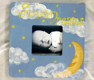 """sweet dreams"" frame"