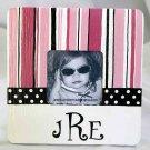 """sassy stripes"" frame"