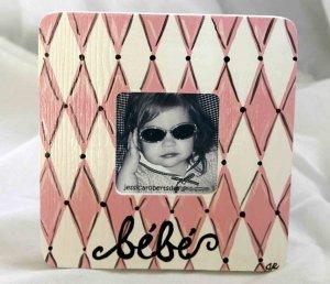 """""""bebe"""" frame"""
