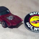 Hot Wheels 1968 Vintage Python Car, Spectraflame Red, With Metal Button