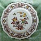 "Mason's Manchu Brown Ironstone Dinner Plate, 10-1/2"""