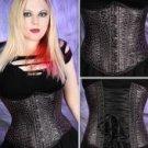 Sale! Black Leopard Print Corset