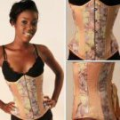 Ivory Floral Tapestry Corset