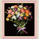 Colorful Daisy Bouquet Silk Ribbon Embroidery Starter Kit