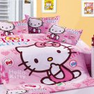 Hello Kitty Pink Bedding for Girls Childrens. Twin