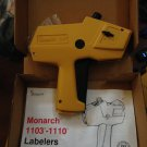 NEW GENUINE Monarch 1110 Price Gun - Retail Label Labelling Dispenser One Line