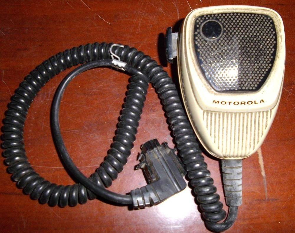 Motorola HMN1052A Spectra Astro Microphone Hand MIC Push Button Radio Walky Talk