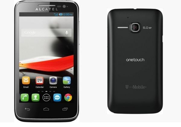 New Alcatel One Touch Evolve Smartphone T-Mobile Android - NO CONTRACT - Black
