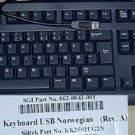 *NEW* NORWEGIAN NORWAY ENGLISH USB KEYBOARD FOR PCS & MACS - Foreign Keyboard