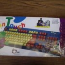 SIIG KIDS CLICKY Fun Touch Keyboard Spill Resistant AT Classic Childrens Child
