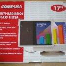 "CompUSA Anti Glare Radiation Static Filter for 15"" 16"" 17"" CRT LCD Monitors"