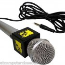 MTV Karaoke Microphone Yellow & Black The Singing Machine Mic SMM-200 Classic