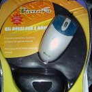 NEW USB Optical Scroll Mouse W/ Gel Pad - Gaming Office Comfort Scrolling PC MAC