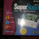 NEW Sony SuperStation Internal 10GB Gigabyte Backup Drive Tape Cartridge System