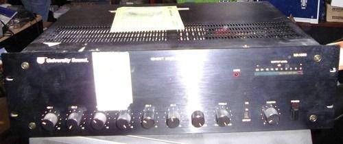 University Sound MA1506 Paging Amplifier - 150 Watt MA 1506  Mixer Mix Amp Audio
