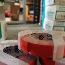 "DYMO 1 Roll 3/8"" x 12' RED Embossing Tape Label Magazine Maker Printer 2300"