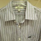 FACONNABLE Men's Button Up Dress Casual Shirt XL XLARGE MINT