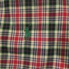 Polo Ralph Lauren LS YARMOUTH Dress Shirt Stripes  FLANNEL LARGE L GORGEOUS