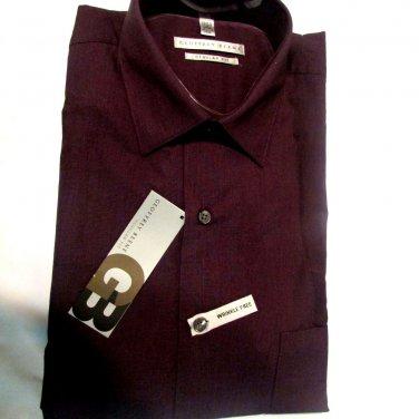 $52  Geoffrey Beene Men's dress Regular Fit 15 34/35  Wrinkle Free