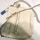 AUTH $265 NWT Rebecca Minkoff Mini Harley Bucket Shoulder Bag White,One Size NEW