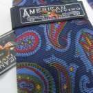 American Living Red Blue Green Design Silk Men's Tie NWT   LHK 1002