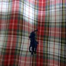 RALPH LAUREN Red/ White Check Button-Down Shirt XL Short Sleeves BLAKE