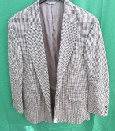 Eddie Bauer Brown Wool- Blend  Blazer Jacket SIZE 48