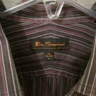 Ben Sherman Mens Dress Shirt sz 16 34/35 VERY NICE