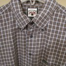 NEW FACONNABLE Men's Button Up Dress Casual Shirt XL XLARGE NWOT VERY WOW