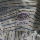 Brooks Brothers French Cuff Dress Shirt Woven In Italy Made In The USA 16.5 32