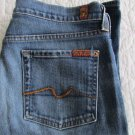 7 Seven for All Mankind Size 30  bootcut jeans