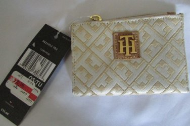 Tommy Hilfiger Jacquard Zip Coin Wallet