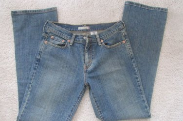 WOMENS LEVIS 515 BOOT CUT STRETCH JEANS SIZE 6M