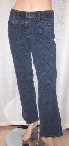 ANN TAYLOR LOFT blue jeans, Sz 4