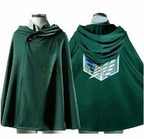 Free Shipping Attack on Titan Shingeki no Kyojin Recon Corps Cloak