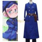 Free Shipping Hetalia Axis Powers Sweden Cosplay Costume