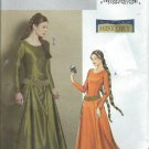 "2006-Butterick""Making History""PatternB4827-UNCUT-Size EE(14-16-18-20)Misses' Medieval Dress and Belt"