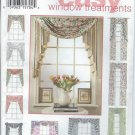 1994- Simplicity Pattern 9105 - UNCUT- One Size - Design Your Own Window Treatment