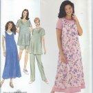 Simplicity Pattern 8589-UNCUT-Szie H(6-8-10)Maternity Dress or Top, Jumper & Pants or Shorts