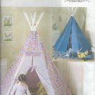 Butterick Pattern B4251-One size-Tepee and Mat