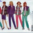 """Butterick """"Classics"""" Pattern 3081 - UNCUT - Size Xs,S,M (6-14) - Misses' Jacket, Vest, Skirt & Pants"""