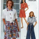 "BUTTERICK ""Fast&Easy"" Pattern 6795 - UNCUT - Size (12,14,16) - Misses' Shirt, Shorts and Pants"